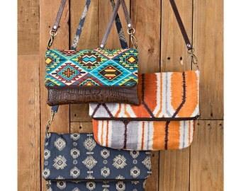 Sewing Pattern for Clutch Purse, Wristlet and Shoulder Bag, Boho Style Purse, Wristlet Purse,  Simplicity 8028, Cross Body Bag Pattern