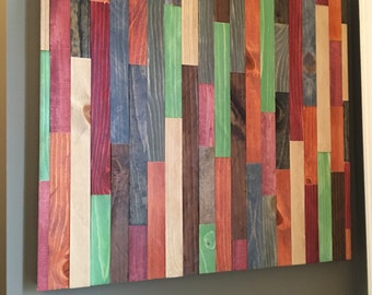Wood Wall Art - FREE SHIPPING