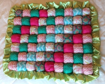 Baby Bubble Quilt - Ready to Ship