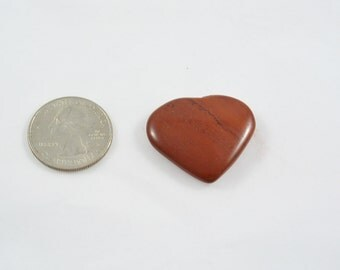 Red Jasper Heart small