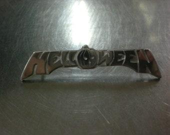 Helloween silver pin
