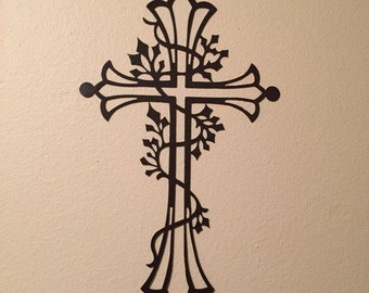 Fancy Metal Cross R3
