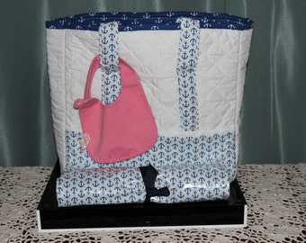 Large Diaper Bag / Tote