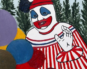 Pogo The Clown Vinyl Banner 4ft tall by 2ft wide