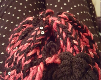 lady bug baby hat