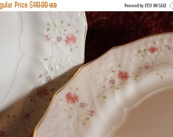 End Of Summer SALE Set of 12 Royal Doulton Dinner Plates - The Moselle Collection, Madeira Pattern, Limited 1984 Edition