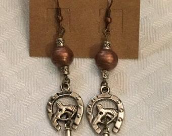 Western earrings