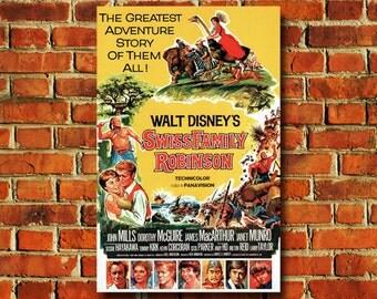 Disney Swiss Family Robinson Movie Poster - #0728