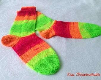 Handknitted socks size 38-40