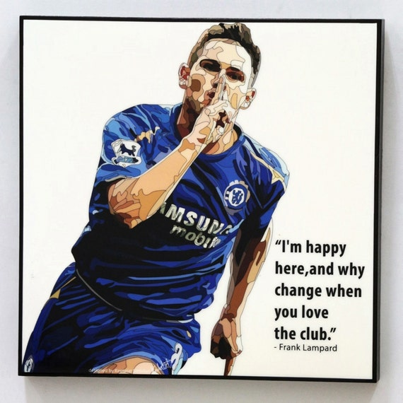 Frank Lampard Chelsea FC Wall Art Decals Quotes Football