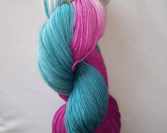 Mermaids- merino/nylon sock
