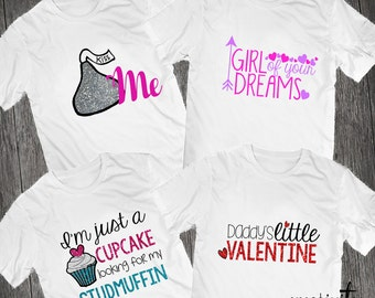 Valentine's Girl Shirts