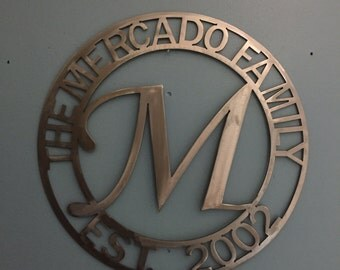 Personalized CNC Plasma-Cut Plaques and Wall Hangings