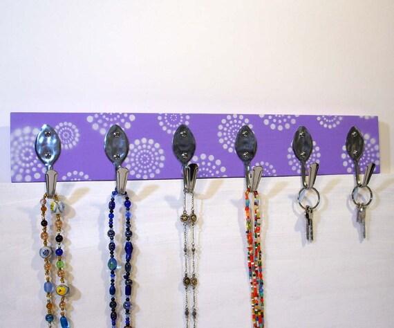 Foyer Closet Jewelry : Jewelry organizer hook board entryway closet