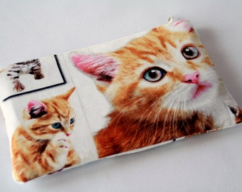 Bag/pouch ,,Love cats""