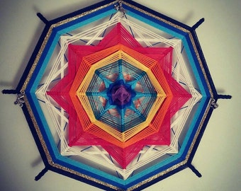 "Mandala Ojo de Dios ""Birth"""