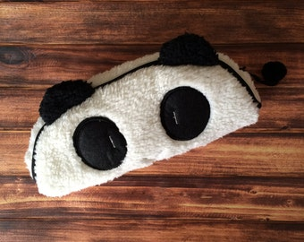 Soft Plush Panda Pen Pencil School Case