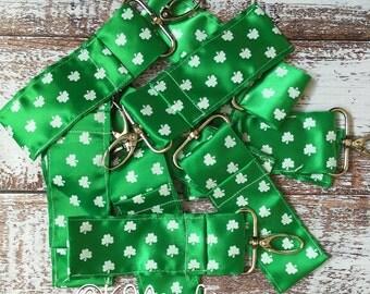 Chapstick Holder, St. Patrick's Day, Personalized