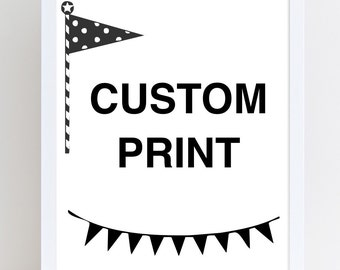 Custom Print - Lovely Little Prints