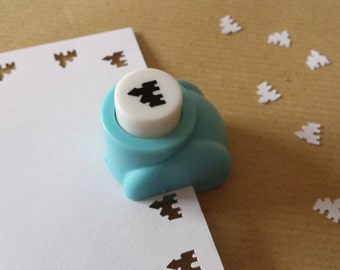 A hole punch pattern Castle scrapbooking