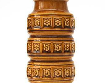 SPRINGBREAKER: Scheurich Caramel Pot (West Germany pottery)