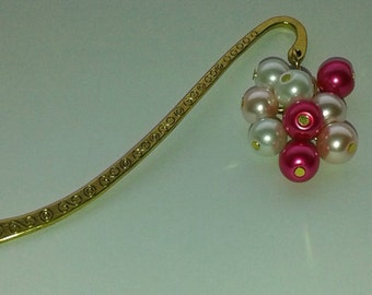 Gold Plated Breast Cancer Awareness Bookmark