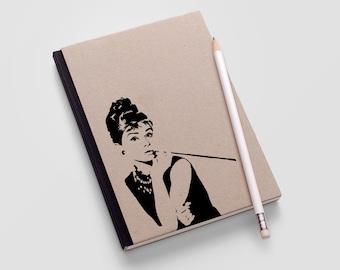 Audrey Hepburn Decal - Breakfast At Tiffany's Decor / Audrey Hepburn Wall Art