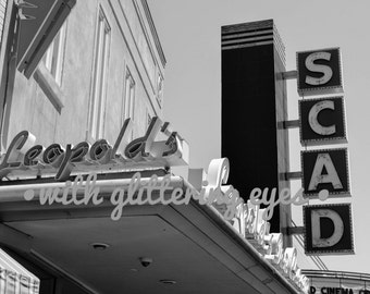 Black and White Leopold's and SCAD Photo