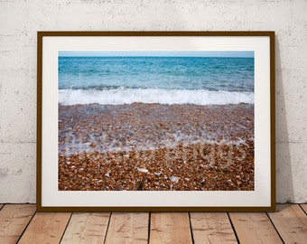 Surf Wall Art, Surf Wall Decor, Surf Print, Surf Poster, Surf Photo, Surf Picture, Surf Photography, Surf Art, Surf Artwork, Slapton Decor