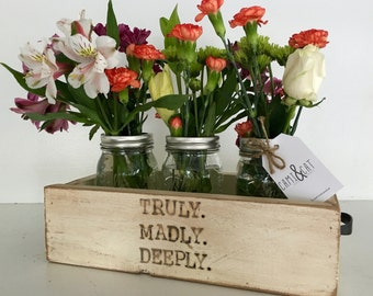 Truly Madly Deeply Flower Box