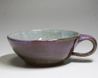 Japanese Handmade Purple Soup Cup YUFUIN
