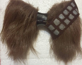 Chewbacca hair bow from Star Wars