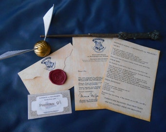 "Shop ""hogwarts letter"" in Art & Collectibles"