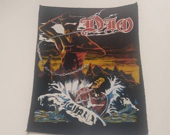 """Dio """"Holy Diver"""" 80s Vintage backpatch NEW"""