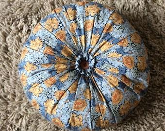 William Morris round cushion