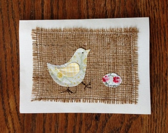 Easter Chick and Egg