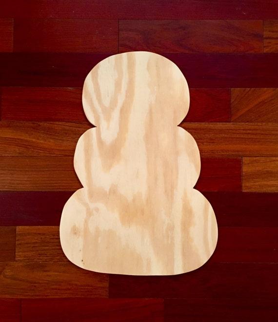 Reversible Snowman Pumpkins Wood Blank Diy Blank Fall Door