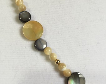 Shell and Mother of Pearl Necklace