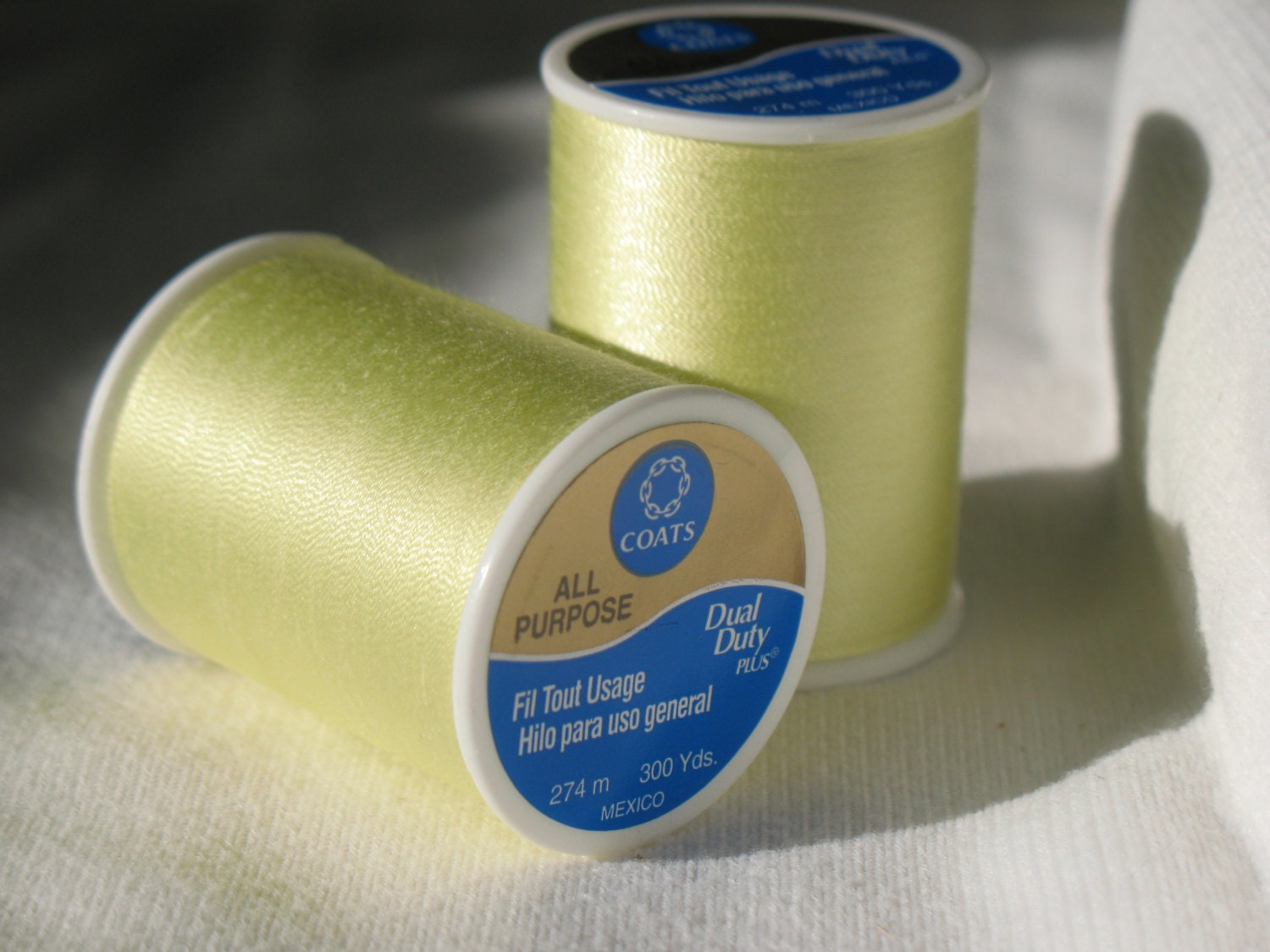 Coats Amp Clark Dual Duty All Purpose Thread 295a From