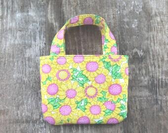Toddler girl purse, kids handbags, baby purse, cute purses, girls accessories, toddler girls, girls purse, sunflower little girl purse
