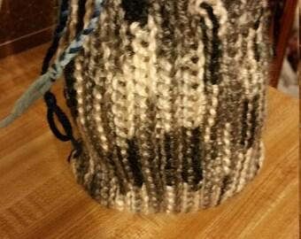 Mini Crochet pull string bag