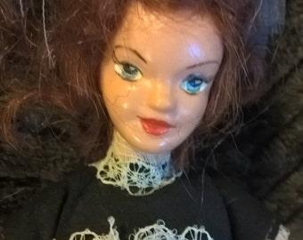 Vintage House of Nisbit hard plastic maid character doll