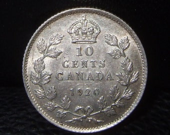 CANADA 1920 10 CENTS