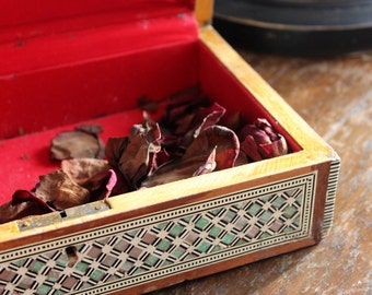Vintage Syrian Inlay Box