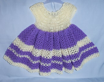 Handmade Crocheted Dress