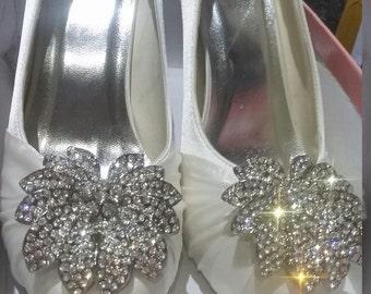 Handmade Gatsby Style Bridal Shoes