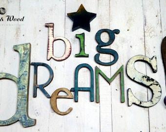 """WORD """"BIG DREAMS!"""""""