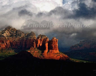 Sedona, Red Rocks, American Southwest, Coffee Pot Rock, Kitchen Art