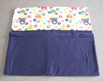 M&M pillowcase