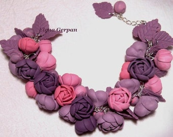 Bracelet «Lilac Evening»